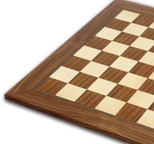 Chessboard 50cm on Case for Standard Themed Chess Sets