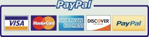 paypal and other cards logo
