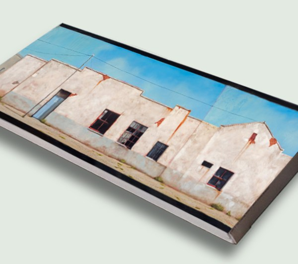 Aberdeen Long Street (711) Rectangle Stretched Canvas, artist print on canvas, 150cm by 50cm, by Donna McKellar.