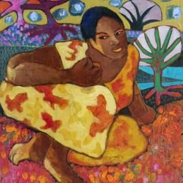 The Studio Art Gallery - My Secret Garden by Bonnie Serjeant