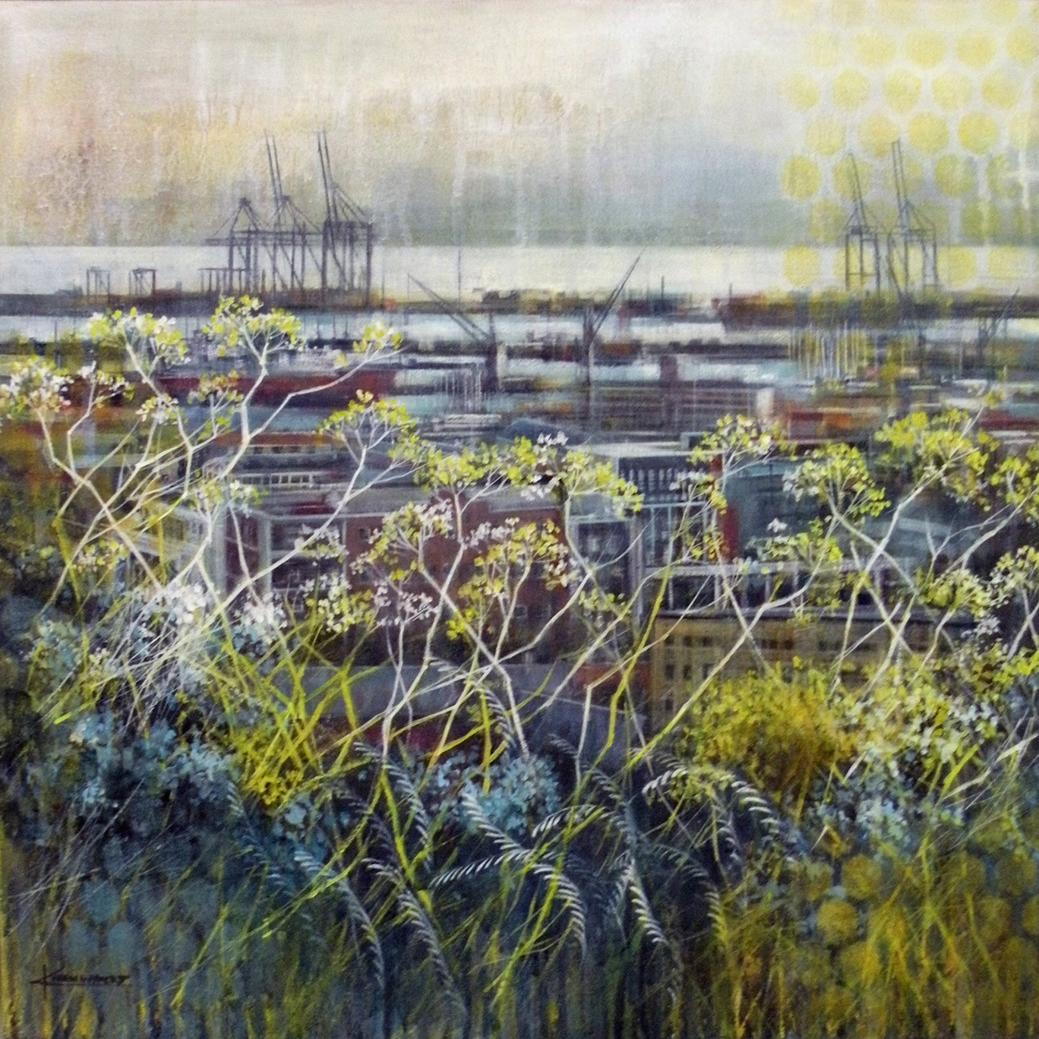 The Studio Art Gallery -Symbiosis Harbour by Karen Wykerd