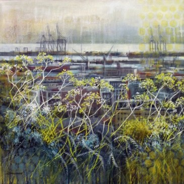 Karen Wykerd | The Studio Art Gallery - 'Symbiosis Harbour'