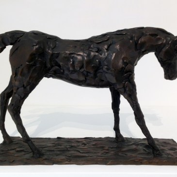 The Studio Art Gallery - Sculpture - Walking Horse by Chris Bladen
