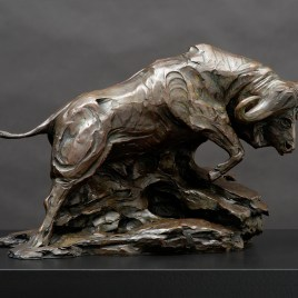 The Studio Art Gallery - Richard Gunston Sculptures - Cape Buffalo by Richard Gunston