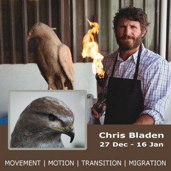The Studio Art Gallery - Icon Image - Movement Motion Transition Migration - Chris Bladen solo exhibition