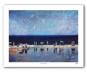 The Studio Art Gallery - Summertime - Paper Print