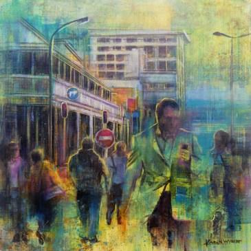 Karen Wykerd | The Studio Art Gallery - 'A Stream of Consciousness I'