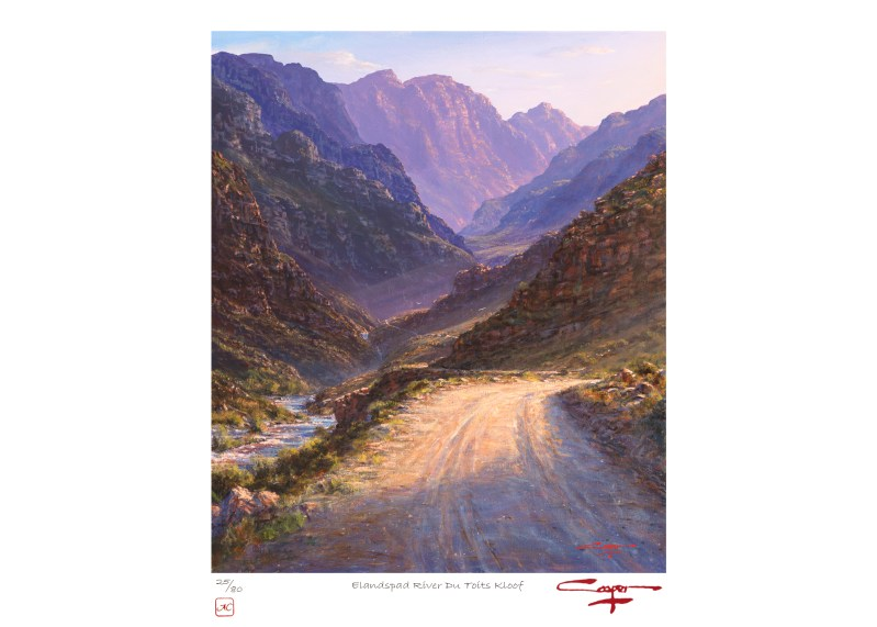 The Studio Art Gallery - Andrew Cooper - Holsloot River Rawsonville Limited Edition Print