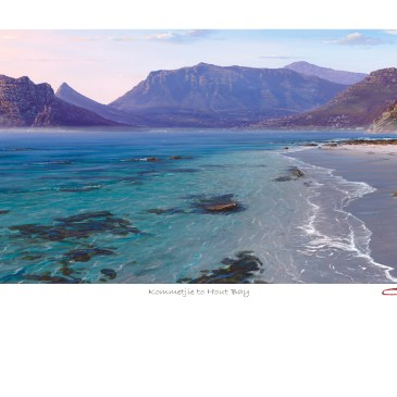 The Studio Art Gallery - Andrew Cooper - Kommetjie to Hout Bay Limted Edition Print - Limited Edition Print