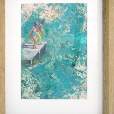 Karen Wykerd | The Studio Art Gallery - 'Aquarius I'