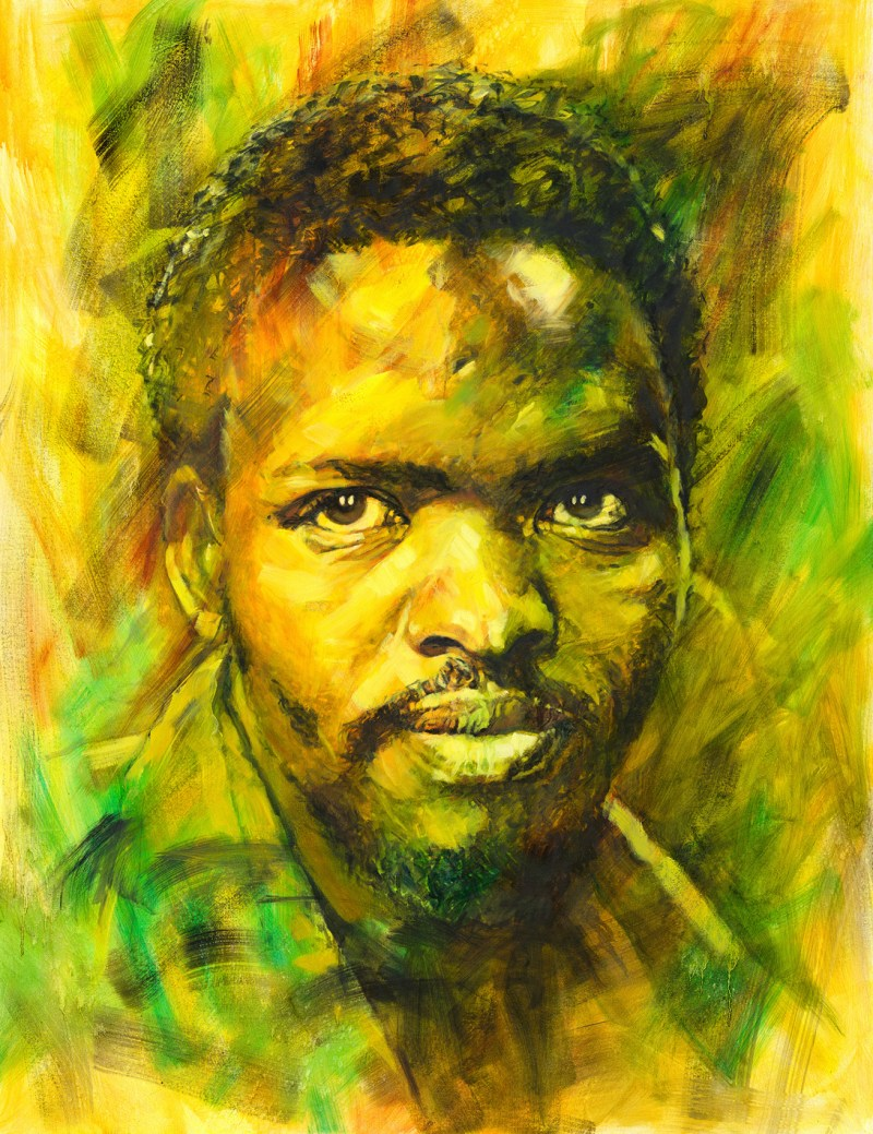 The Studio Art Gallery - Steve Biko by Therese Mullins