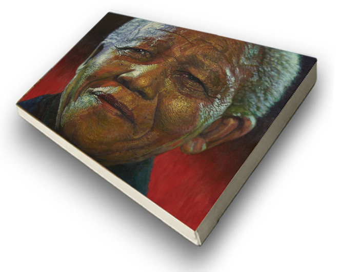 The Studio Art Gallery - Amandla Madiba by Therese Mullins -Stretched Canvas