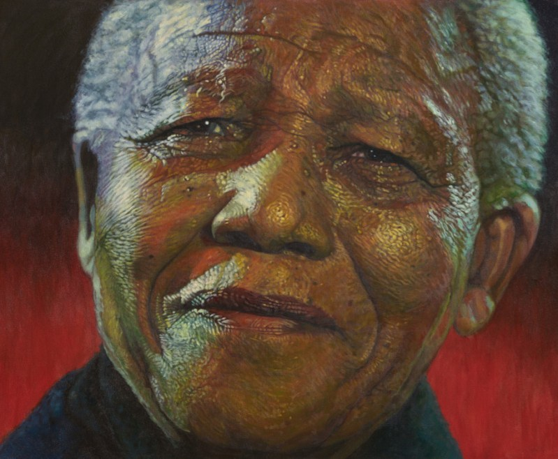 The Studio Art Gallery - Amandla Madiba by Therese Mullins