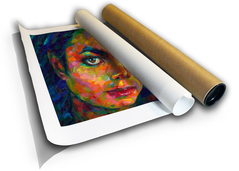The Studio Art Gallery - Michael Jackson by Therese Mullins - Canvas Print in Tube