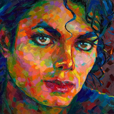 The Studio Art Gallery - Michael Jackson by Therese Mullins