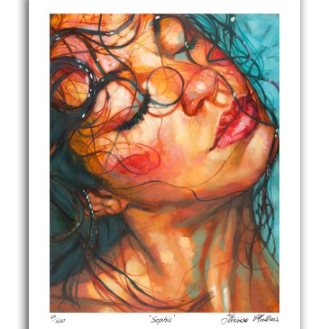 The Studio Art Gallery - Sophia - Artist Print on Paper by Therese Mullins