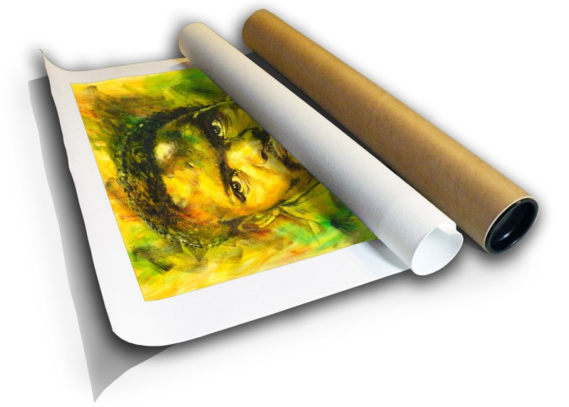 The Studio Art Gallery - Steve Biko by Therese Mullins - Canvas Print in Tube