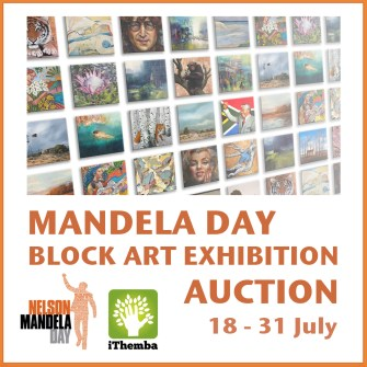 The Studio Art Gallery - Icon Image - Mandela Day Block Art Exhibition Auction