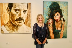 The Studio Art Gallery - Immortals, a solo exhibition by Therese Mullins. 01