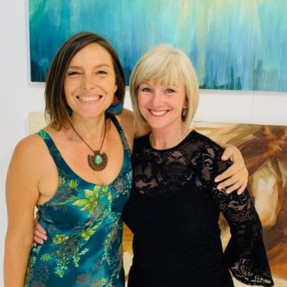 The Studio Art Gallery - Awaken a Solo Exhibition by Yola Quinn - Opening Pic 8