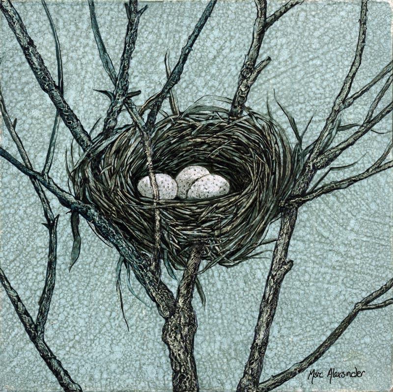 The Studio Art Gallery - Bird's Nest II