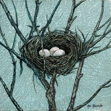 The Studio Art Gallery - Bird's Nest II