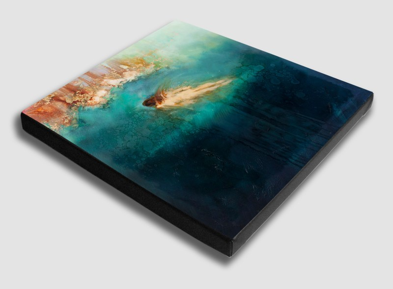 The Studio Art Gallery - Bodies of Water by Yola Quinn - Archival Print on Stretched Canvas