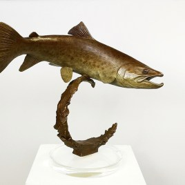 The Studio Art Gallery - Eco-Logic Awards 2019 - Artist for Nature Exhibition - Chris Bladen - Riverdance Brown Trout