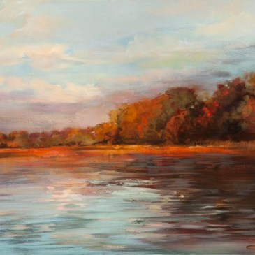 The Studio Art Gallery - Evening Light by Yola Quinn
