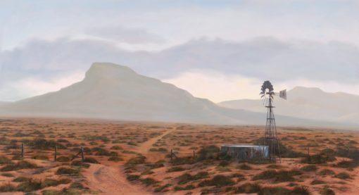 The Studio Art Gallery - Karoo Morning #850 by Donna McKellar