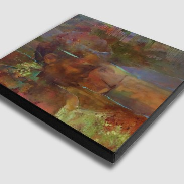 The Studio Art Gallery - Origin by Yola Quinn - Canvas Print on Stretcher
