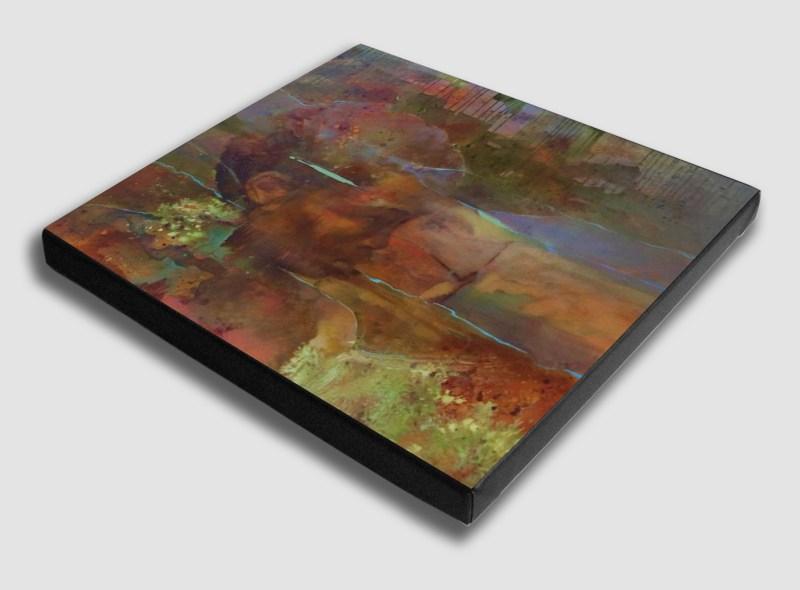 The Studio Art Gallery - Origin by Yola Quinn - Canvas Print on Stretcher