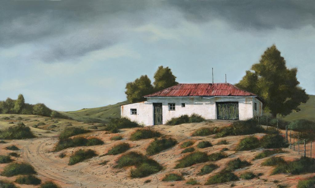 The Studio Art Gallery - Rhodes Barn 851 by Donna McKellar