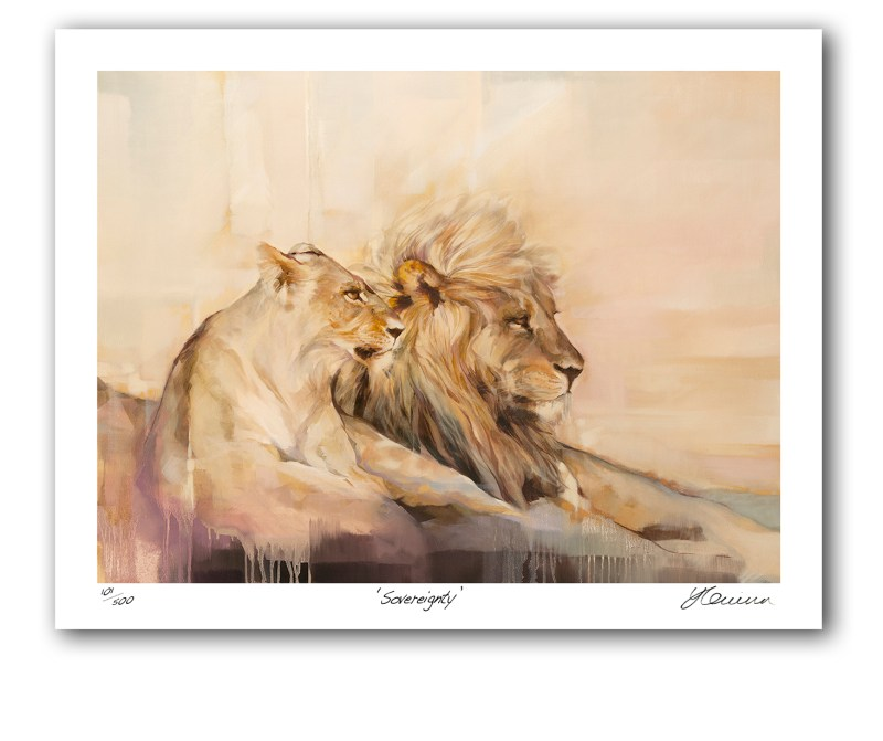 The Studio Art Gallery - Sovereignty by Yola Quinn - Archival Print on Paper