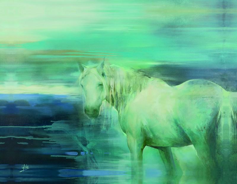 The Studio Art Gallery - Spirit Guide by Yola Quinn