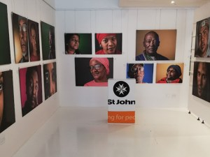 The Studio Art Gallery - St John - Vision 20 20 Opening Pic 14