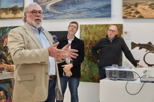 The Studio Art Gallery - Eco-Logic Awards 2019 - Artists for Nature Exhibition Pic 4 - David Parry-Davies
