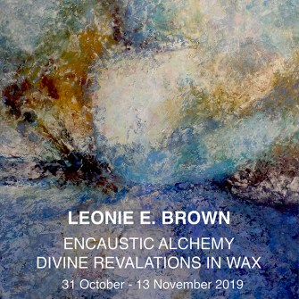 The Studio Art Gallery - Icon Image - Leonie E Brown - Encaustic Alchemy