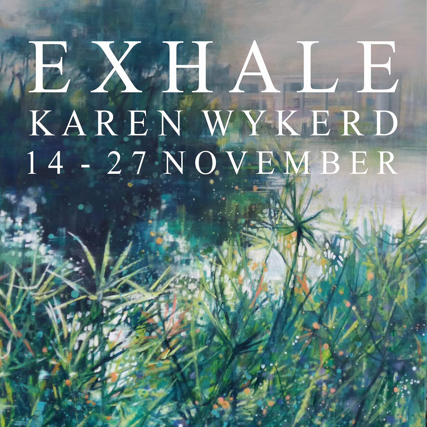 Karen Wykerd | The Studio Art Gallery - EXHALE a Solo Exhibition by Karen Wykerd - Icon Image