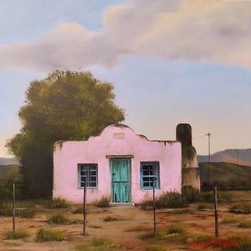 Donna McKellar | The Studio Art Gallery | Unpetrified - Pretty in Pink 891