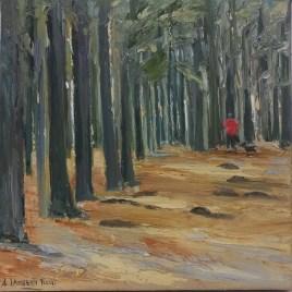 The Studio Art Gallery   2021 Mandela Day Block Art Exhibition   Anita Lamberti Fuchs - Tokai Forest