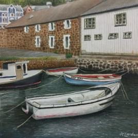 The Studio Art Gallery   2021 Mandela Day Block Art Exhibition   Angela Van Lienden - Simon's Town Harbour