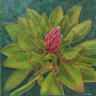 The Studio Art Gallery | 2021 Mandela Day Block Art Exhibition | Cristel Richter - Little Treasures