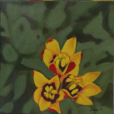 The Studio Art Gallery | 2021 Mandela Day Block Art Exhibition | Doreen Alcock - Beetle Lilly