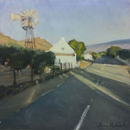 The Studio Art Gallery   2021 Mandela Day Block Art Exhibition   John Robert- Prince Albert Karoo