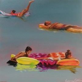 The Studio Art Gallery   2021 Mandela Day Block Art Exhibition   Leanne Gitlin - Float
