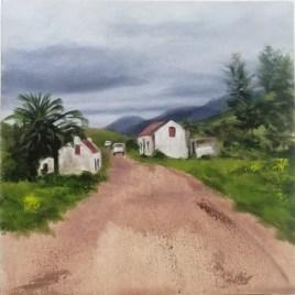 The Studio Art Gallery   2021 Mandela Day Block Art Exhibition   Linda Strydom - Suurbraak