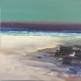 The Studio Art Gallery   2021 Mandela Day Block Art Exhibition   Margot Gawith - Beach Scape II