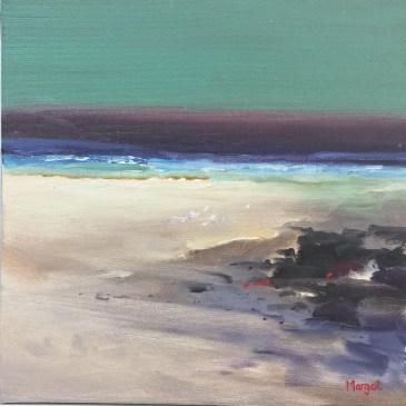 The Studio Art Gallery | 2021 Mandela Day Block Art Exhibition | Margot Gawith - Beach Scape II