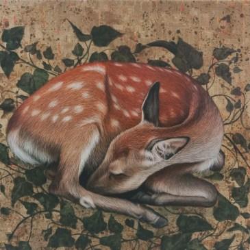 The Studio Art Gallery | 2021 Mandela Day Block Art Exhibition | Marc Alexander - Sleeping Fawn